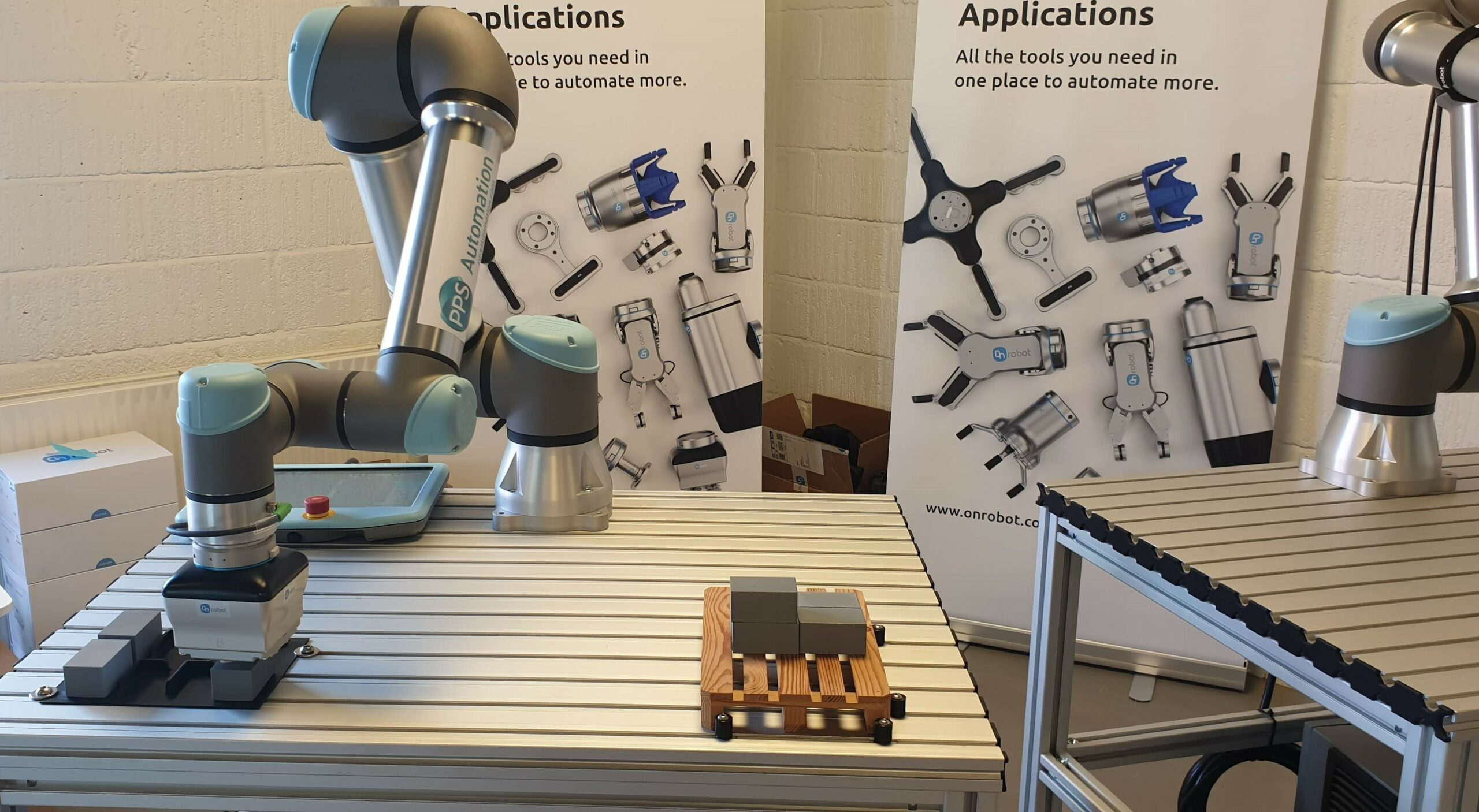 PPS Automation robotløsning fra Universal Robots